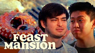 Joji and Rich Brian Grill Exotic Meats for a House Party   Feast Mansion