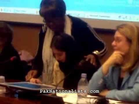 Kashmiri Girl Moves UN Diplomats In Geneva