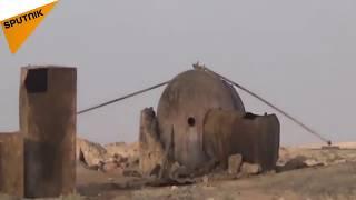 اسرار مخازن نفتی داعش در بیابان های عراق