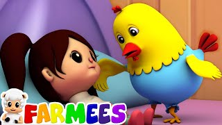 miss polly had a dolly | farmees | nursery rhymes | kids songs | 3d rhymes