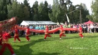 Dračí lodě Velké Dářko 2014 -tanec draka