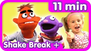 SHAKE BREAK ♫ + More   Dance Songs   Kids Songs Collection   Pancake Manor