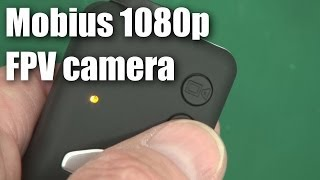 Mobius HD video camera for RC planes and multirotors