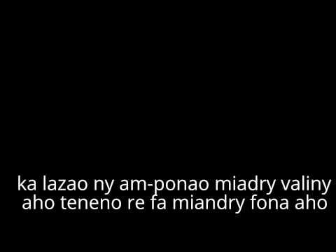 Eny sa tsia mirado lyrics