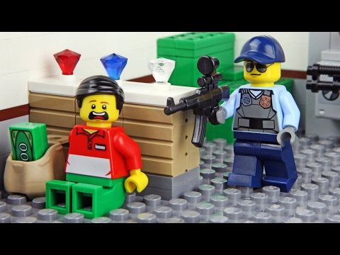 Lego Bank Robbery Invisible Man