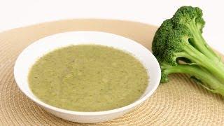 Light Cream of Broccoli Soup Recipe - Laura Vitale - Laura in the Kitchen Episode 703