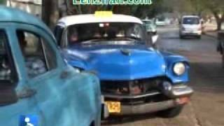 Old cars of Cuban capital Havana attract tourists