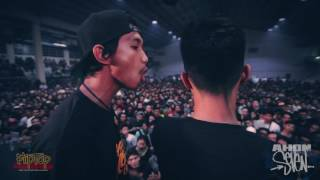 FlipTop - Mhot vs Fangs
