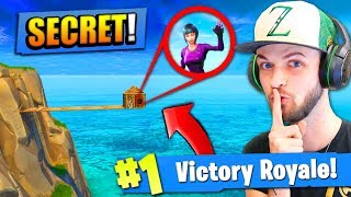 The *SECRET* BUILDING STRATEGY in Fortnite: Battle Royale!