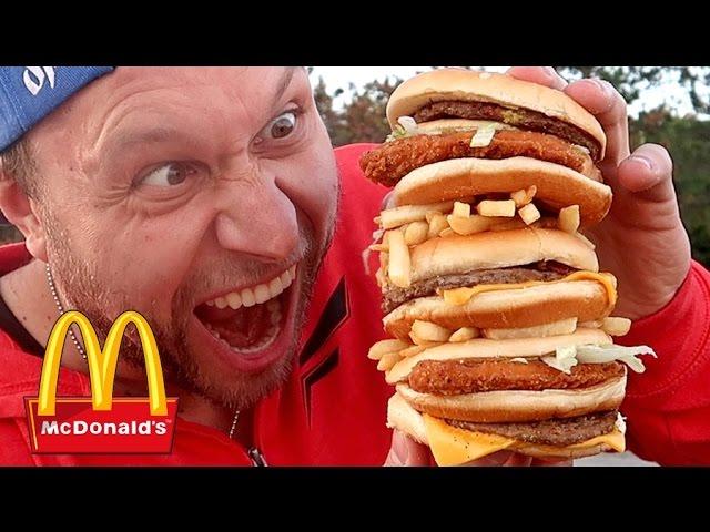McDonald's DOUBLE McG*NGBANG Burger