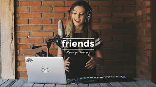 Friends - Justin Bieber | Romy Wave LOOP cover