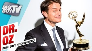 Dr. Oz on Why You Need to Unwrap Your Burger Now! | BigBoyTV