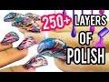 Download Video 250+ Coats of Nail Polish: GUY EDITION! NataliesOutlet 3GP MP4 FLV