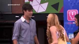 Violetta 1 - León defiende a Ludmila y aprovecha para ponerle una trampa a él (01x68)