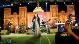 ANANYA SRITAM NANDA  PERFORM KAMLI KAMLI AT PURI YOUTH FESTIVAL 2016