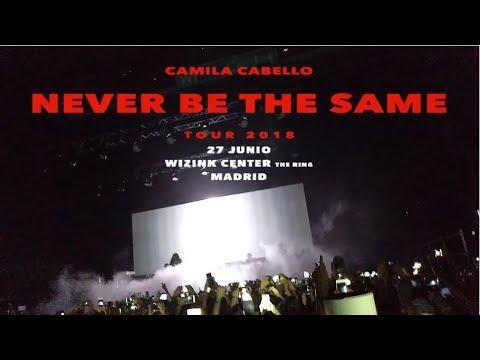 Camila Cabello - Never Be The Same Tour Madrid, Spain (NBTS Tour Full Concert HD)