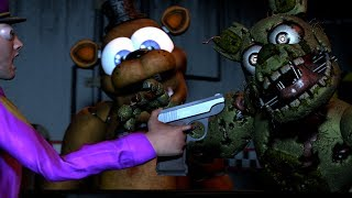 [FNAF SFM] FNAF 6 Ultimate Custom Night | Cheating & Counter Jumpscares Compilation Part 1,2,&3