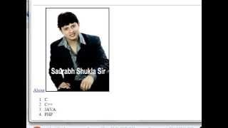 Chapter 3 HTML Tags Hindi