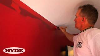 How to paint next to a ceiling and get clean edges