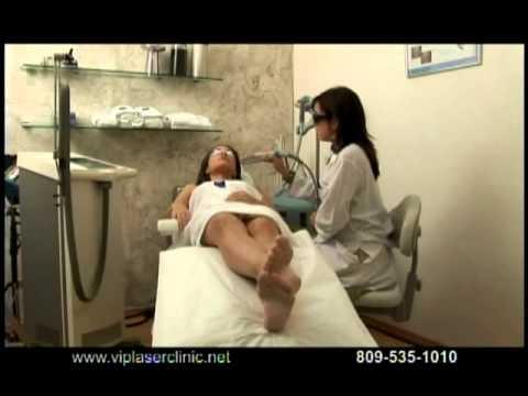 Massiel Taveras Miss Dominican Republic 2007 spot for VIP laser clinic Santo Domingo.