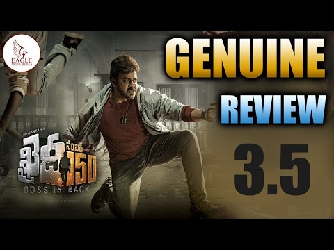 Khaidi No 150 Movie Genuine Review