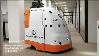 Robotti-imuri uudistaa yrityssiivouksen
