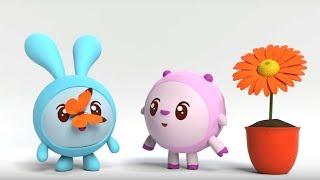 Малышарики - Обучающий мультик для малышей - Все серии про Эмоции 😫😀-  сборник