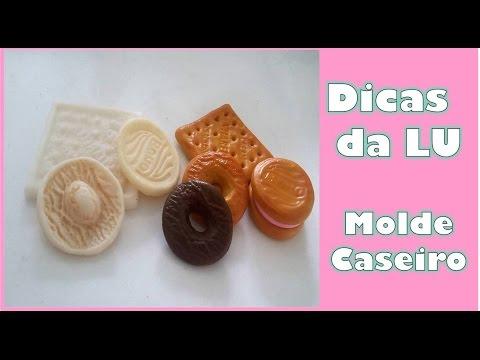 ☆Dicas da LU MOLDES CASEIRO de biscoitos e bombons com biscuit ☆