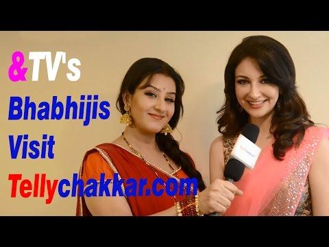 &TV's Bhabhijis visit Tellychakkar.com