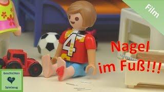 Playmobil Film Deutsch DER NAGEL IM FUSS ♡ Playmobil Geschichten mit Familie Miller