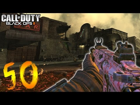 'TOWN' ROUND 50 CHALLENGE! (Call of Duty Black Ops 2 Zombies)