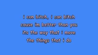The Bitch is Back - Elton John Lyrics [on screen]