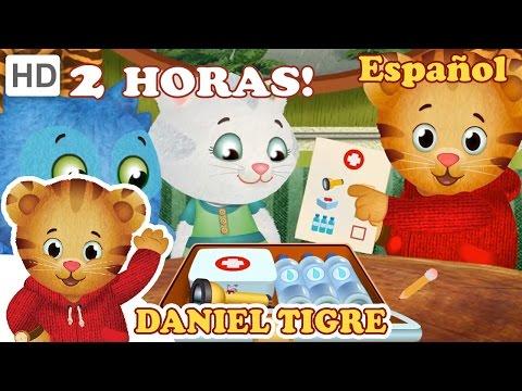 Daniel Tigre en Español Nueva Compilación de Episodios de 2 Horas Episodios en HD