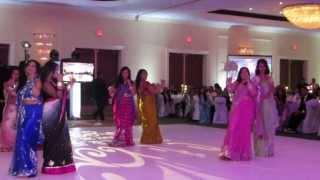 Jessica ans Shehul's Reception Medley Skit- Brides' Side