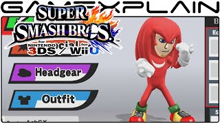 NEW Costume Tour: Tails, Knuckles, Ashley, & More - Super Smash Bros for Wii U