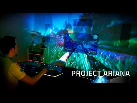 Project Ariana Razer CES 2017