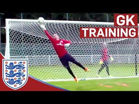 Triple shot stop & diving saves - Hart, Forster & Heaton (Euro 2016)   Inside Training