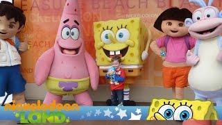 Nickelodeon Land at Blackpool Pleasure Beach Full Tour All Rides
