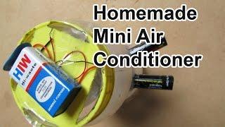 Homemade Mini Air Conditioner - Easy Tutorials