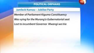 Winners and loser in Jubilee primaries