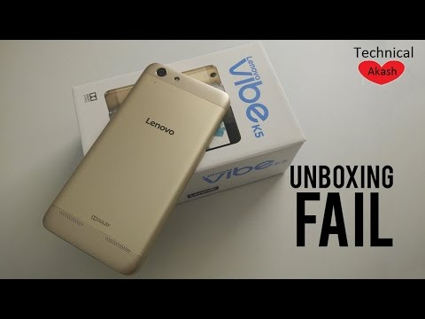[Hindi - हिन्दी] Lenovo Vibe K5 Full Unboxing Review 2016 (India) [best review] bengali