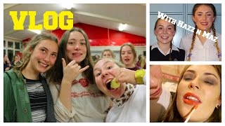 VLOG #1 - MAKE OVER, HPAC, PARTY, SUPPER, CATERPILLAR