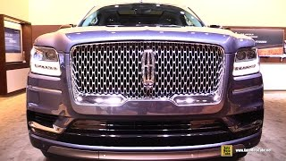 2018 Lincoln Navigator - Exterior and Interior Walkaround - Debut at 2017 New York Auto Show