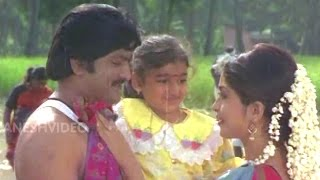 Soggadi Pellam Songs - Konda kona Palaina (K J Yesudas Song) - Mohan Babu, Ramya Krishnan