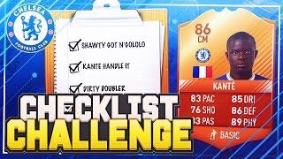 FIFA 17 CHECKLIST CHALLENGE!! 📋 86 MOTM KANTE!! - FIFA 17 SQUAD BUILDER