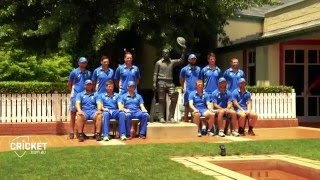 The GOAT and Maxi's tour of the Bradman Museum