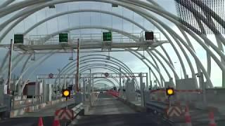 Driving: Turkey Road Trip: Avrasya Tüneli, İstanbul, Türkiye - Eurasia Tunnel, Istanbul (2017-12-01)