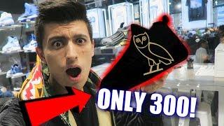 RARE OVO AIR JORDANS SITTING ON SHELVES! | Sneaker Shopping TORONTO!