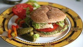 Բանջարեղենով բուրգեր - Veggie Burger Recipe - Heghineh Cooking Show