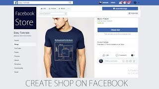 Facebook Store | Facebook Shop | How To Make Online Store on Facebook